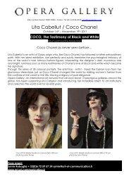 Lita Cabellut / Coco Chanel - Opera Gallery