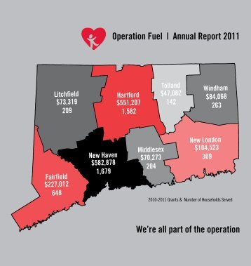 Operation Fuel | Annual Report 2011 We're all part of the operation