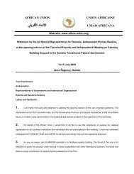 AFRICAN UNION UNION AFRICAINE UNIÃO AFRICANA 1. 2. 3.