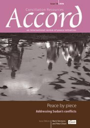 Peace by piece: Addressing Sudan's conflicts