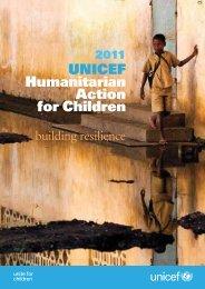 2011 UNICEF Humanitarian Action for Children