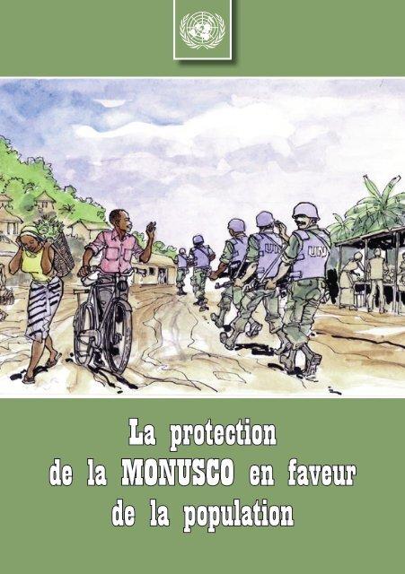 La protection de la MONUSCO en faveur de la population