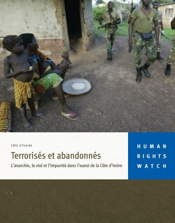 Télécharger le rapport - Human Rights Watch