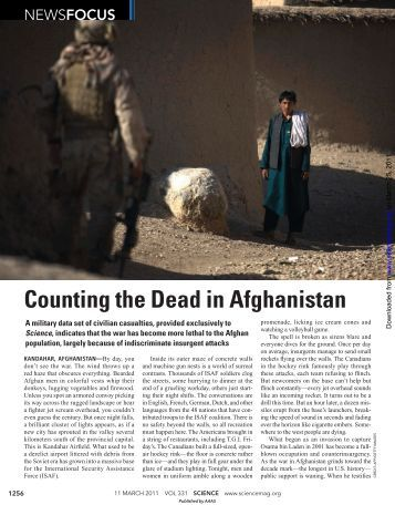 Counting the Dead in Afghanistan