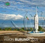 Vision BURUNDI 2025 - Présidence