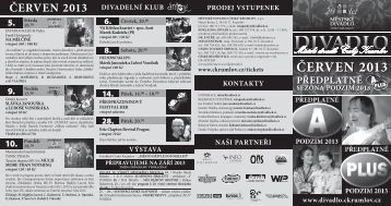 ČERVEN 2013 - Český Krumlov