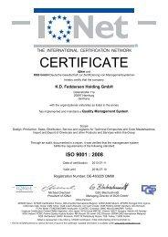 ISO 9001 - AF-COLOR