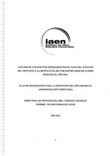 NELSON MORALES.pdf - Repositorio Digital IAEN
