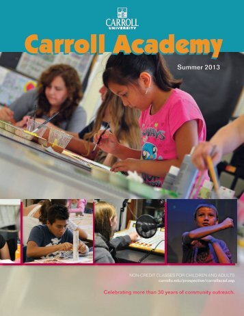 Carroll Academy - Carroll University
