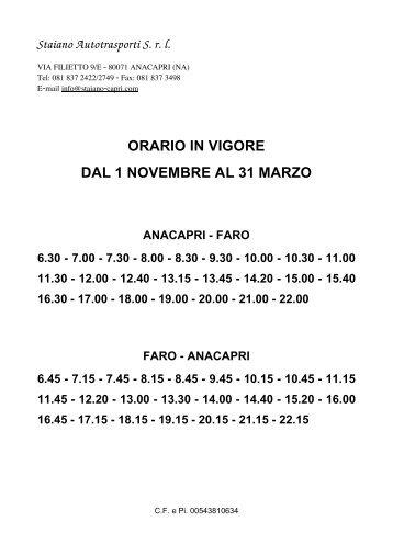 Azienda Autonoma di Cura Soggiorno e Turismo ... - Capri Tourism