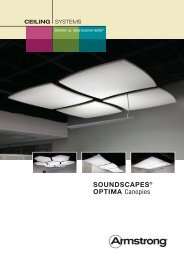 Soundscapes - Optima Canopies - Armstrong-aust.com