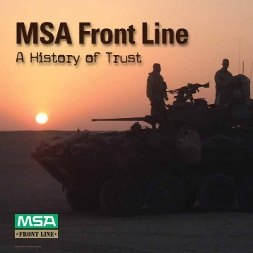 MSA Front Line - 5 Alarm Fire and Safety Equipment