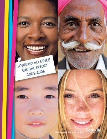 SODEXHO ALLIANCE ANNUAL REPORT 2005-2006