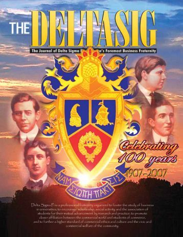 July 07 Issue - Delta Sigma Pi