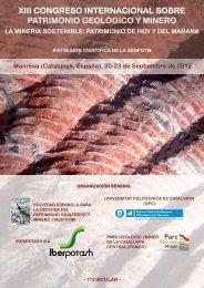 xiii congreso internacional sobre patrimonio geológico y minero
