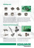 Inserts Welding nuts - KOHLHAGE Fasteners - Page 3