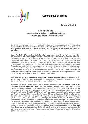 Communiqué Fab Labs-Grenoble INP.doc.pdf - Espace presse ...