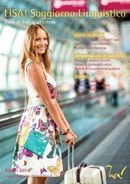 LISA! Soggiorno Linguistico - Vacanze studio per adulti e studenti universitari 2014