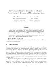 Robustness of Fourier Estimator of Integrated Volatility in the ...