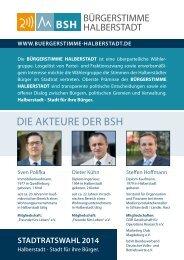 Bürgerstimme Halberstadt