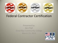 Federal Contractor Certification
