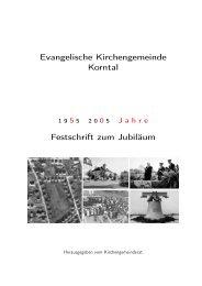 nix - Evangelische Kirchengemeinde Korntal