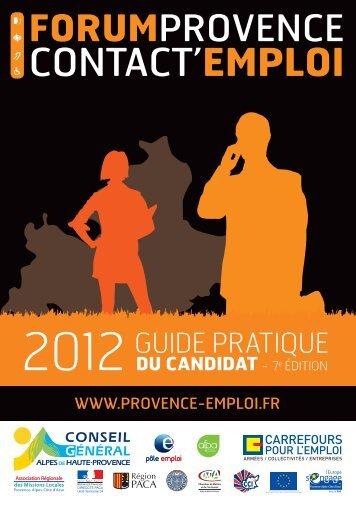 le guide du candidat - Carrefour Emploi