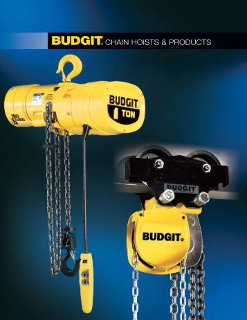 Budgit Product - Columbus McKinnon Corporation