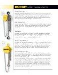 Budgit Product - Columbus McKinnon Corporation - Page 5
