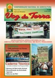 Voz da Terra, Junho de 2003 - CNA