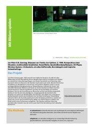 Die Methode M it Bildern spielen Das Projekt