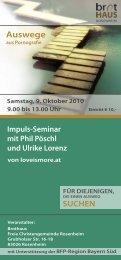 Auswege - Freie Christengemeinde Rosenheim