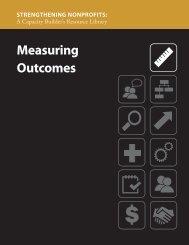 Measuring Outcomes (PDF) - Strengthening Nonprofits