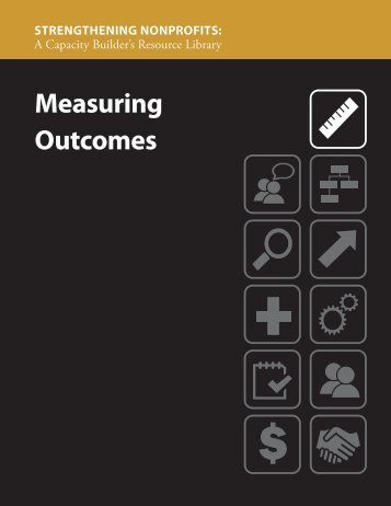 Measuring Outcomes (PDF) - Strengthening Nonprofits