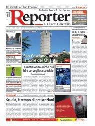 San Casciano, pronta la torre del Chianti - Il Reporter