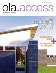 2010 association aWarD WinnErs - Accessola2