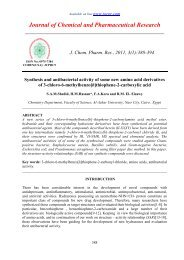 Synthesis and antibacterial activity of some new amino acid ...