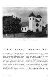 HOLSTEBRO VALGMENIGHEDSKIRKE