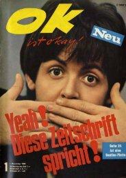 OK ist Okay Nr. 01 vom 01.Nov 1965