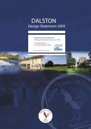 Dalston Design Statement Supplementary Planning Document in ...