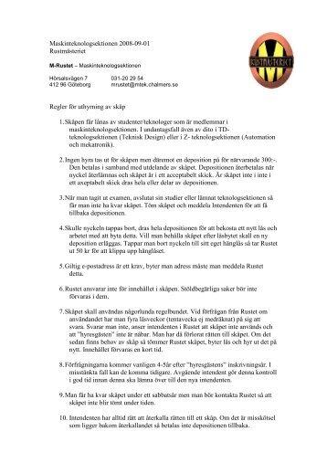 här (pdf) - Chalmers tekniska högskola