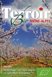 Terroir Bio Rhône-Alpes - Chambres d'Agriculture de Rhône-Alpes
