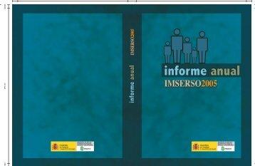 Informe Anual 2005 - Imserso