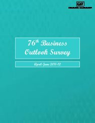 76 Business Outlook Survey - CII