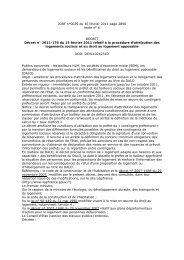 JORF n°0039 du 16 février 2011 page 2890 texte ... - Convergence-LR