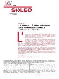 Soleoscope 1 - Agence Europe-Education-Formation France