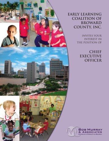 early learning coalition of broward county, inc. - Bob Murray ...