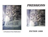 Pressions 1999 Fiction - Memorial High School