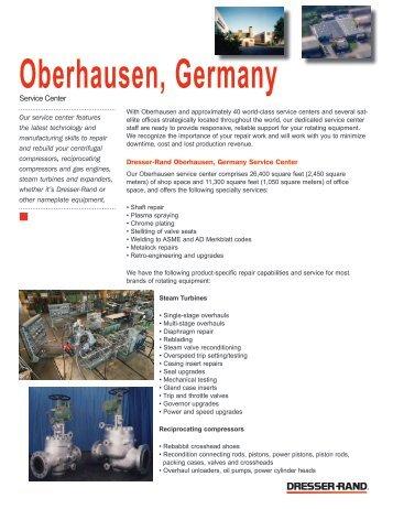 Oberhausen Germany Dresser Rand