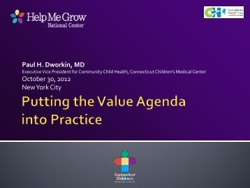 Paul H. Dworkin, MD October 30, 2012 New York City